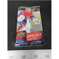 1 pack of 8 Upper Deck 2015/16 series 1 Hockey Cards/ Get a McDavid