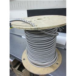 Spool of Armoured RW90 Electrical Cable 14/2AC90X150 / length unknown