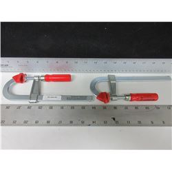 "Set of 2 Bessy Clamps 8"" / BES LMU2.006"