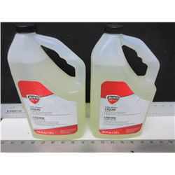 2 Car Wash Liquid 1.9 liter ea / safe on paint or wax surfaces / lifts dirt away