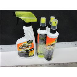 Bundle of 4 Armor All Protectant Spray