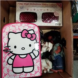 HELLO KITTY, NATIVE DOLL, AND RING DISPLAY HANDS