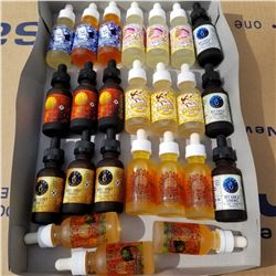 24 BOTTLES OF 30ML E VAPE JUICE