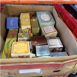 BOX OF AVON COLLECTIBLES