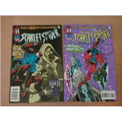 The Scarlet Spider & The Spectacular Scarlet Spider Comics