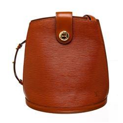Louis Vuitton Siena Brown Epi Leather Cluny Shoulder Bag