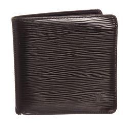 Louis Vuitton Black Epi Leather Marco Mens Wallet