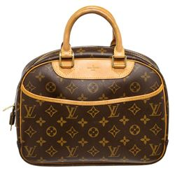 Louis Vuitton Monogram Canvas Leather Trouville Bag