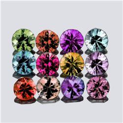 Natural Multi Color Burma Spinel 12 Pcs