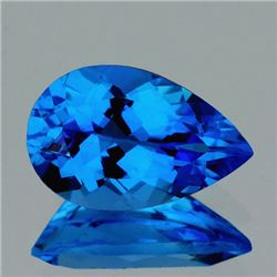 Natural  AAA Swiss Blue Topaz 24x16 MM - FL