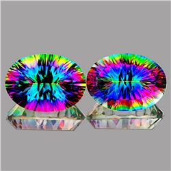 Natural Mystic Topaz 21.01 Quartz - IF
