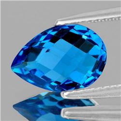NATURAL SWISS BLUE TOPAZ 16.5x11mm [FLAWLESS]