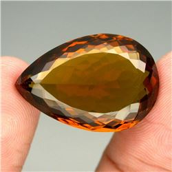 Natural Unheated  Cognac Quartz 23.20 Ct