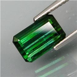 Natural Bluish Green Tourmaline 2.17 Ct