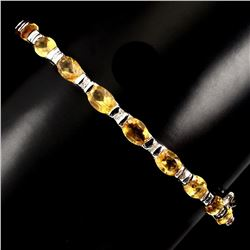 Natural Top Rich Yellow Citrine 72.40 Ct Bangle