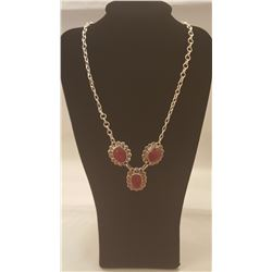 GORGEOUS 23.5 CT RUBY NECKLACE