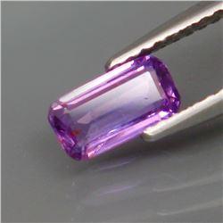 Natural  Lavender UNHEATED Sapphire 7.5x4 MM
