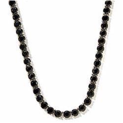 Diamond Polished Black Spinel necklace - 250 carat