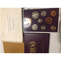 1970 Royal Great Britain Mint Proof Set in Original Package