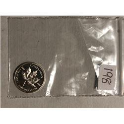 Canadian 999 Fine Silver 1 Gram Coin Beautiful