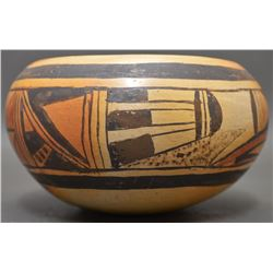 HOPI INDIAN POTTERY BOWL (LESSO)
