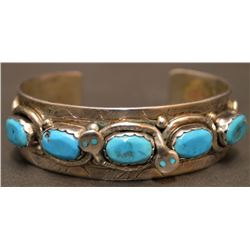 ZUNI INDIAN BRACELET (EFFIE CALAVAZA)