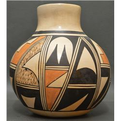 HOPI INDIAN POTTERY VASE (PAULINE SETALLA)