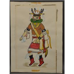 HOPI INDIAN PAINTING