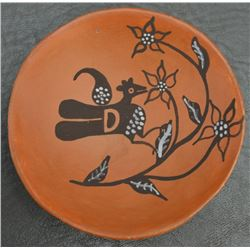 ACOMA INDIAN POTTERY PLATE  (ARAGON)