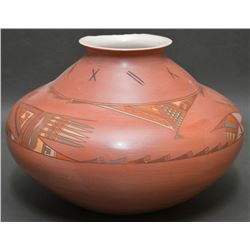 HOPI/NAVAJO INDIAN POTTERY JAR (BEGAY)
