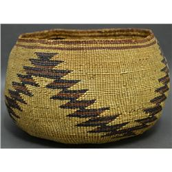 YUROK, KARUK INDIAN BASKET
