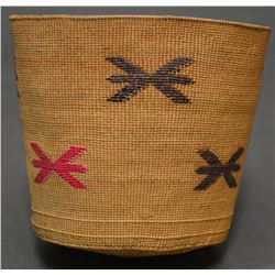 ALEUT INDIAN BASKET