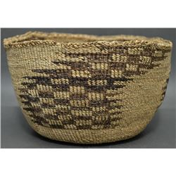 KLAMATH INDIAN BASKETRY BOWL