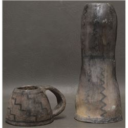 CATAWBA INDIAN POTTERY ITEMS