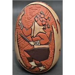 HOPI INDIAN POTTERY VASE (MARTY AND ELVIRA NAHA NAMPEYO)