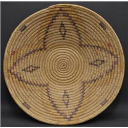 JICARILLA APACHE INDIAN BASKETRY BOWL