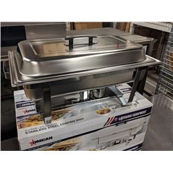 OMCAN FULL SIZE STAINLESS CHAFING DISH SET