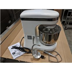 NEW 7QT PLANETARY MIXER WITH GUARD AND ATTACHMENTS