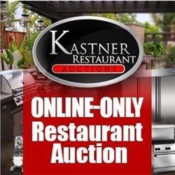 WELCOME TO KASTNER'S TIMED RESTAURANT AUCTION!