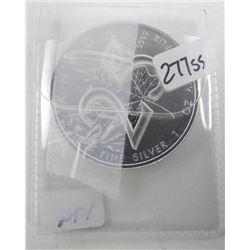 .9999 Fine Silver $5.00 Coin: '25th Anniversary' M