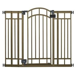 Summer Infant Deco Extra Tall Walk-Thru Gate- Bronze