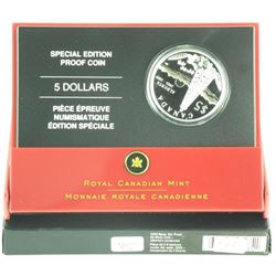 2005 Special Edition Proof $5.00 Silver Coin 'ALTA