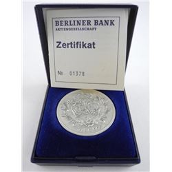 Berliner Bank 1979 Silver Coin