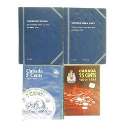 Estate Lot Coin Books Nickels and Cents