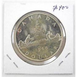 Canada 1966 Silver Dollar
