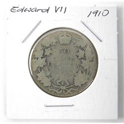 1910 NFLD Silver 50 Cent
