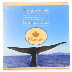 The Blue Whale Set 925 Silver $10.00 Coin 2 High V