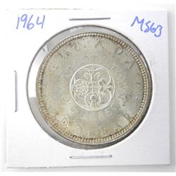 1964 $1.00 .800 Silver MS-63