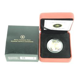 2007 - 50 Cent 925 Sterling Coin - Golden Forget M
