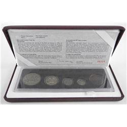 RCM 90th Anniversary Coin Set. Antique Finish